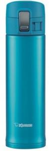 Термокружка Zojirushi  SM-KB48AW 0.48 л ц:голубой металлик (16780059)