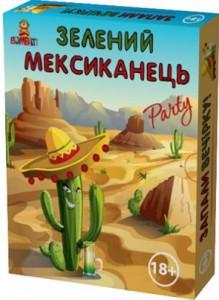 Настільна гра Bombat Game 'Зелений мексиканець' укр. (2388D)
