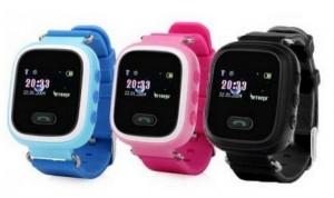 фото Детские смарт-часы GoGPS Me K11 с GPS трекером (K11BK) #3