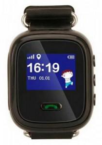 Детские смарт-часы GoGPS Me K11 с GPS трекером (K11BK)