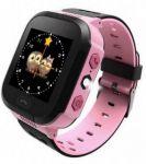 Детские смарт-часы GoGPS Me K12 с GPS трекером (K12PK)