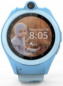 Детские смарт-часы GoGPS Me K19 с GPS трекером (K19BL)