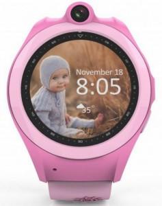 Детские смарт-часы GoGPS Me K19 с GPS трекером (K19PK)