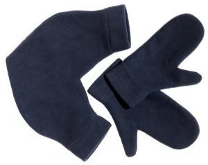 Подарок Варежки для влюбленных ,цвет синий (vdv1)