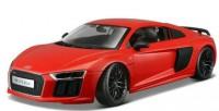 Автомодель Maisto 1:24  Audi R8 V10 Plus красный (31513 red)