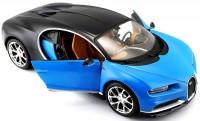 Автомодель Maisto 1:24 Bugatti Chiron синий металлик (31514 met. blue)