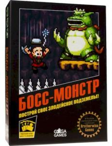 Настольная игра GaGa Games 'Босс-Монстр' (GG122)