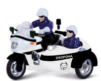 Автомодель Technopark 'Мотоцикл охрана' (CT1247/2US)