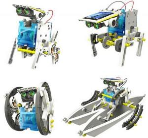 фото Конструктор  `Робот 14 в 1 на солнечных батареях` (21-615) #8