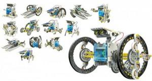 фото Конструктор  `Робот 14 в 1 на солнечных батареях` (21-615) #7