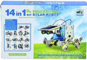 Конструктор Educational Solar Robot `Робот 14 в 1 на солнечных батареях` (21-615)