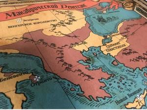 Настольная игра Studio 101 'Карта Макабрической Европы' (ST5797)
