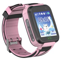 Детские умные часы с GPS трекером Motto TD-16 (SK-009) Pink (TD16PN)