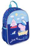 Рюкзак дошкольный средний Peppa Pig 'Море'