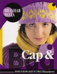 Книга Cap & Bag. Шапка и шарф, жакет и сумка. Спицы и крючок