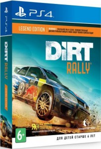 игра Dirt Rally. Legend Edition PS4 - Русская версия