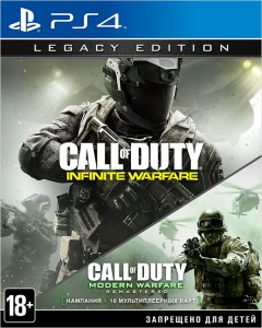 игра Call of Duty: Infinite Warfare Legacy Edition PS4 - Русская версия