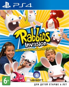 игра Rabbids Invasion PS4 - Русская версия