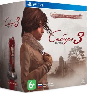 игра Syberia 3. Сollector's edition PS4 - Сибирь 3. Коллекционное издание - Русская версия