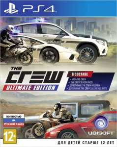 игра The Crew. Ultimate Edition PS4 - Русская версия