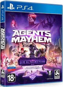 игра Agents of Mayhem Day One Edition PS4 - Agents of Mayhem. Издание первого дня - Русская версия
