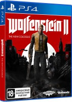 игра Wolfenstein 2: The New Colossus PS4 - Русская версия