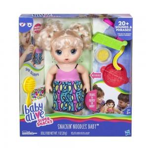 фото Кукла Hasbro Baby Alive 'Малышка и Лапша' (C0963) #2