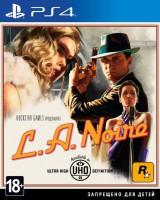 игра L.A.Noire PS4 - Русская версия