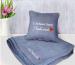 фото Набор подушка и плед с вышивкой 'С добрым утром, Любимый!' Серый (100-9721972) #2