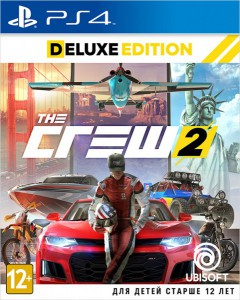 игра The Crew 2. Deluxe Edition PS4 - Русская версия