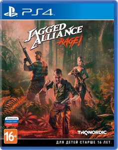 игра Jagged Alliance: Rage! PS4 - Русская версия