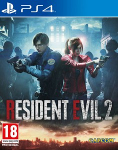 игра Resident Evil 2 Remake PS4