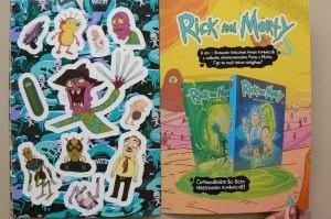 фото страниц Рик и Морти. Журнал стикеров с новой обложкой #3