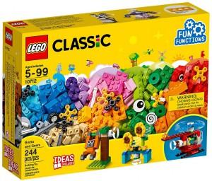 Конструктор Lego Classic 'Кубики и механизмы' (10712)