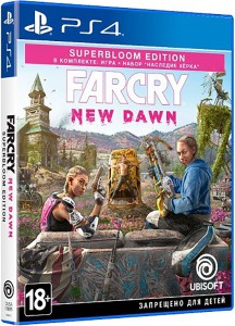 игра Far Cry: New Dawn. Superbloom Edition PS4 - Русская версия
