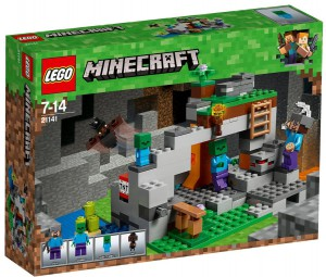 Конструктор Lego Minecraft 'Пещера зомби' (21141)