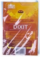 Протекторы (кармашки) для карт GaGa Games (80 х 120 мм, Dixit, 100 шт.) (GG012)