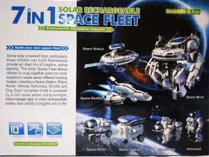 фото Конструктор на солнечной батарее Cute Sunlight 'Space fleet' 7 в 1 (2117) #2