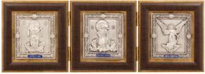Подарок Икона-складень 'Покров, Спаситель и Ангел Хранитель' (0104004001)