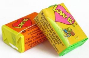 фото страниц Блокнот 'Моя любовь #всписках' + Жевательная резинка Love is... 'Апельсин-Ананас' #12