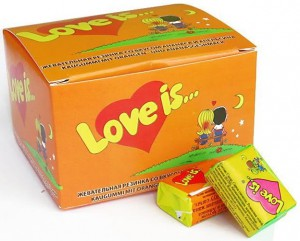 фото страниц Блокнот 'Моя любовь #всписках' + Жевательная резинка Love is... 'Апельсин-Ананас' #11
