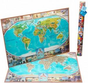 фото Скретч карта мира My Vintage Map #2