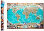 Подарок Скретч карта мира My Vintage Map