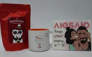 фото Подарочный набор 'Шоколад + пряности для глинтвейна + чашка' (суперкомплект из 3 предметов) #3