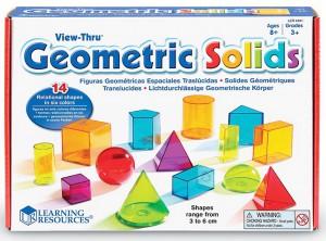 Обучающий игровой набор Learning Resources '3D-геометрия' (LER4331)