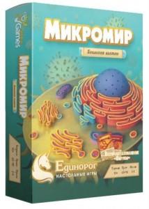 Настольная игра Единорог 'Микромир: Биология клетки' (ED-001)