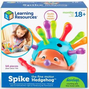 Обучающий игровой набор-сортер Learning Resources 'Веселый ежик' (LER8904)