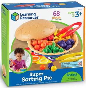 Обучающий игровой набор-сортер Learning Resources 'Ягодный пирог' (LER6216)