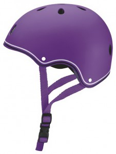 Шлем защитный детский Globber, фиолетовый XS (500-103)