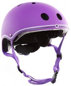 фото Шлем защитный детский Globber, фиолетовый XS (500-103) #2